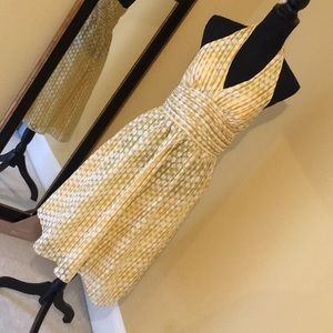 Super cute polka dot halter dress from Robbie Bee